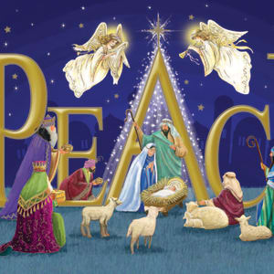 Christmas Card - Peace at Christmas