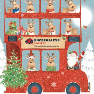 Christmas Card - Christmas Bus Ho Ho Ho