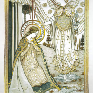 Christmas Card - The Annunciation