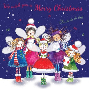Christmas Card - Fairy Choir